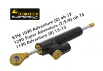 "Touratech Suspension Steering Damper ""Constant Safety Control"" for KTM 1090 Adventure (R) ab 17/1290 Super Adventure (T/S/R) ab 15/1190 Adventure (R) 13-15 incl. installation kit"