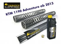 Touratech Progressive fork springs for KTM 1190 Adventure from 2013