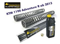 Touratech Progressive fork springs for KTM 1190 Adventure R from 2013