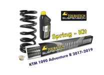 Progressive replacement springs for fork and shock absorber, for KTM 1090 Adventure R (2017-2019)