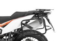 Stainless steel pannier rack black for KTM 790 Adventure / 790 Adventure R