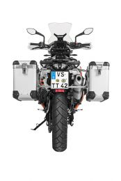 "ZEGA Pro aluminium pannier system ""And-S"" 31/38 litres with stainless steel rack for KTM 790 Adventure / 790 Adventure R"