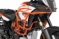 Touratech Crash bar extension orange for KTM 1290 Super Adventure S / R