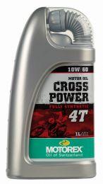Motorex oil - Cross Power 4T 10W/ 60 - 1 Ltr.