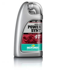 Motorex oil - Power Synt 4T SAE 10W/50 - 4 litres JASO MA2
