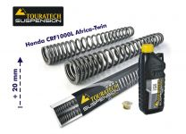Touratech Progressive fork springs for Honda CRF1000L Africa Twin (2015-2017) +20mm / Offroad Travel