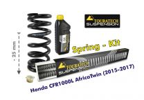 Touratech Height lowering kit. 25mm. for Honda CRF1000L Africa Twin (2015-2017) replacement springs