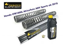 Touratech Progressive fork springs for Honda CRF1000L Africa Twin Adventure Sports from 2018