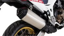 Remus Okami titanium silencer. black for Honda CRF1000L Africa Twin (2018-)/ CRF1000L Adventure Sports. slip-on with ABE