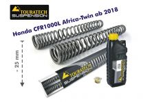 Touratech Progressive fork springs for Honda CRF1000L Africa Twin from 2018 -25mm lowering