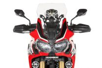 Touratech Windscreen. M. transparent. for Honda CRF1000L Africa Twin/ CRF1000L Adventure Sports