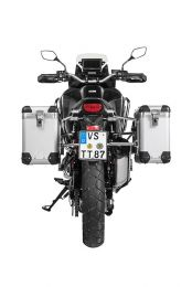 "ZEGA Pro aluminium pannier system ""And-S"" 31/38 litres with stainless steel rack for Honda CRF1100L Africa Twin"