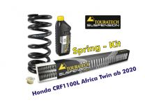 Progressive replacement springs for fork and shock absorber, for Honda CRF1100L Africa Twin from 2020