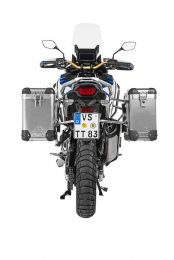 Touratech ZEGA Pro aluminium pannier system 31/38 litres with stainless steel rack for Honda CRF1100L Adventure Sports