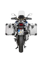 "ZEGA Evo X special system ""And-S"" 45/45 litres with stainless steel rack for Honda CRF1100L Adventure Sports"