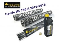 Touratech Progressive fork springs for Honda NC750X 2012-2015