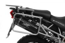 Stainless steel pannier rack for Triumph Tiger 800/ 800XC/ 800XCx