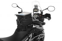 Tank bag Black Edition for the Triumph Tiger 800/ 800XC/ 800XCx. water repellent