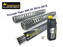 Touratech Progressive fork springs for Triumph Tiger 800 XC / XCx / XCa 2016-2018
