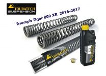 Touratech Progressive fork springs for Triumph Tiger 800 XR / XRt / XRx 2016-2017