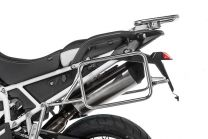 Stainless steel pannier rack for Triumph Tiger 900