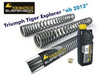 Touratech Progressive fork springs for Triumph Tiger Explorer *from 2012*