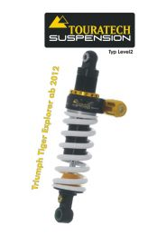 Touratech Suspension shock absorber for Triumph Tiger Explorer from 2012 type Level2/ExploreHP