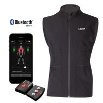 Heated vest 'Heat Vest 1.0' with lithium battery and Bluetooth control unit size:s