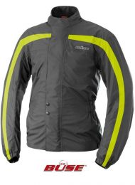 Rain jacket. black/yellow. size  XL