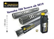 Touratech Progressive fork springs for Yamaha 700 Tenere from 2019 -35mm lowering