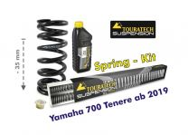 Touratech Height lowering kit -35mm for Yamaha 700 Tenere from 2019 replacement springs