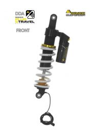 "Touratech Suspension ""front"" shock absorber DDA / Plug & Travel for BMW R1200GS/R1250GS from 2017"