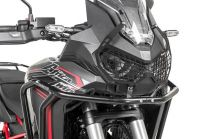 """Headlight protector black with quick release fastener for Honda CRF1100L Africa Twin """"OFFROAD USE ONLY"""" """