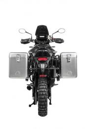 ZEGA Mundo aluminium pannier system with stainless steel rack for Triumph Tiger 900