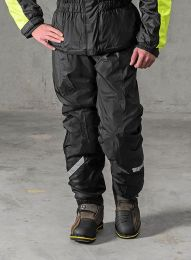 Rain trousers with membrane, black
