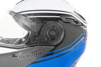 Conversion kit for Touratech Aventuro Traveller visor, transparent incl. screws