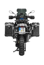 ZEGA Evo aluminium pannier system with stainless steel rack for BMW R1250GS/ R1250GS Adventure/ R1200GS (LC)/ R1200GS Adventure (LC)