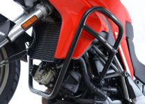 Adventure Bars for Ducati Multistrada 950 '17-, Multistrada 1200/1200S '15- and Multistrada 1260 '18- models. BLACK