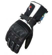 Halvarssons ADVANCE Gloves, Black & Ivory, Size 8