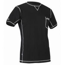 Halvarssons LIGHT Underwear, Short Sleeve, Black