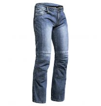 Lindstrands Jeans WRAP Short Leg, Unisex, Blue, size SL