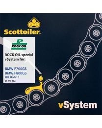 Scottoiler vSystem chain lubrication system. for BMW F700GS / F800GS. from 2017