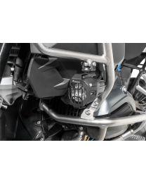"""Headlight protector for original BMW LED """"Nano"""" headlight. Set. black (08/2017-)"""