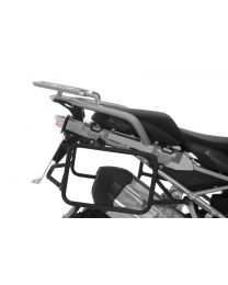 Stainless steel pannier rack black. for BMW R1250GS/ R1250GS Adventure/ R1200GS (LC)/ R1200GS Adventure (LC)