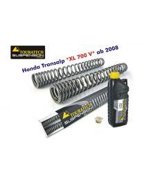 Touratech Hyperpro progressive replacement fork springs. Honda XL700V Transalp '08