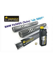 Touratech Progressive replacement fork springs. BMW F650GS (Twin) from 2008-2012