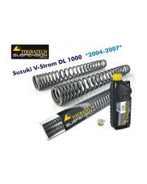 Touratech Progressive fork springs for Suzuki V-Strom DL 1000 2004 to 2013