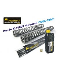 Touratech Progressive fork springs for Honda XL1000V Varadero (2003-2005)WITHOUT ABS