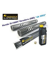 Touratech Progressive fork springs for Honda XL1000V Varadero (ABS) from 2004