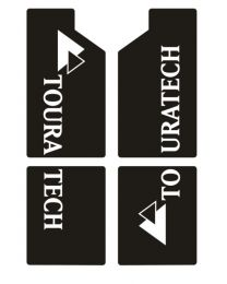 Decal set fork  for BMW R 1200 GS/ADV up to 2012